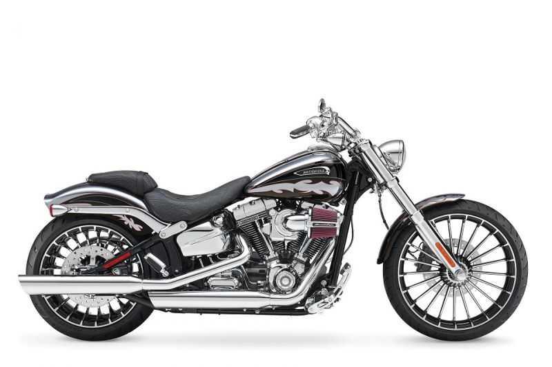 Lanzamiento en Chile: Harley-Davidson CVO Breakout - Autos y Motos ...