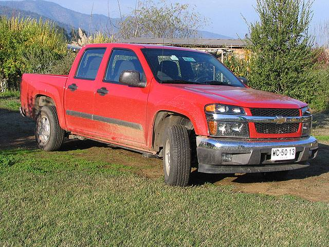 chevrolet colorado 2009 ficha tecnica