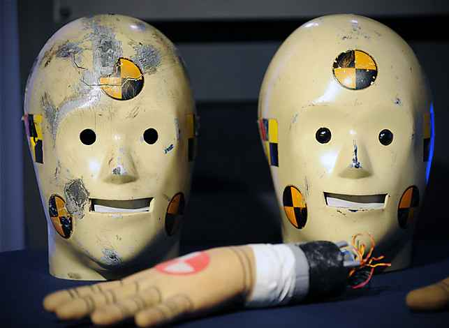 Today is the 25th anniversary of the launching of the Vince and Larry crash test dummy public service campaign, and donated artifacts are welcomed at a ceremony at the Smithsonian American History museum in Washington, DC.