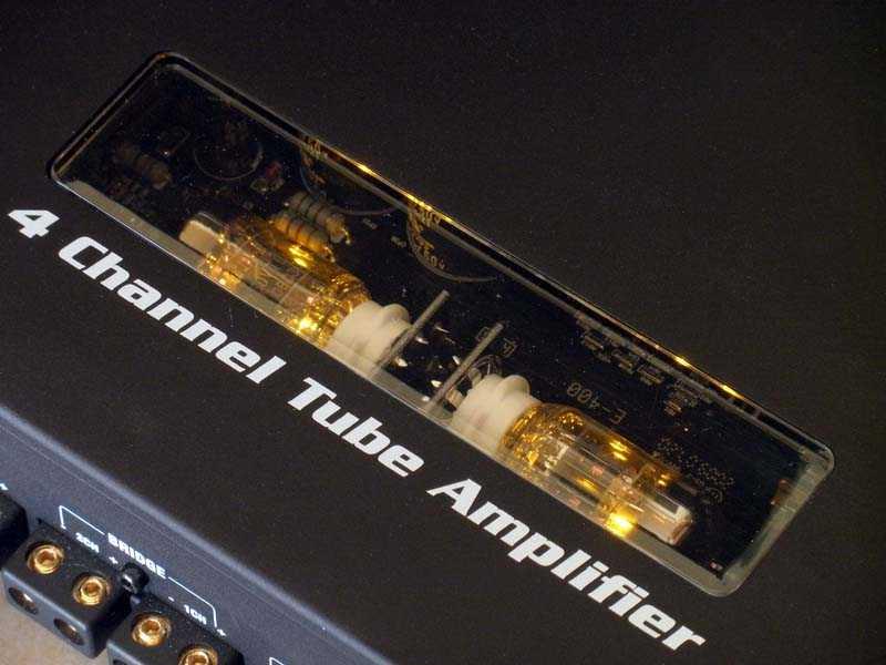Amplificador de 4 canales a Tubo (Clase H)