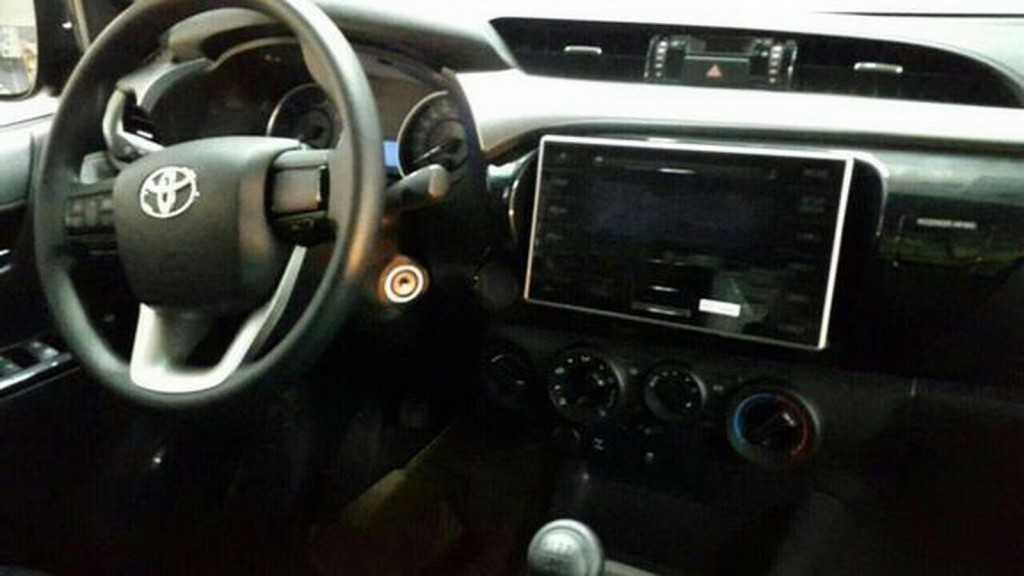 Toyota Hilux espia 2016 2