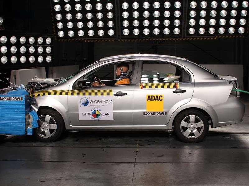 Chevrolet Aveo Latin NCAP 2015