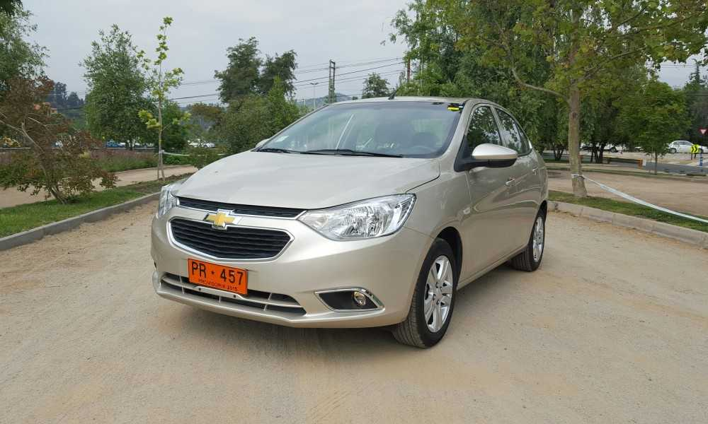 Chevrolet Sail Nb 1 5l Lt 109 Cv 5mt 2016 Evoluci 243 N Familiar Rutamotor