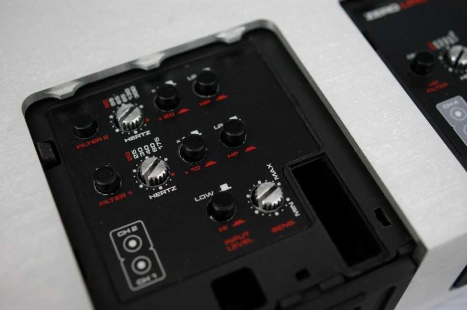 Crossover Activo, incorporado en un amplificador