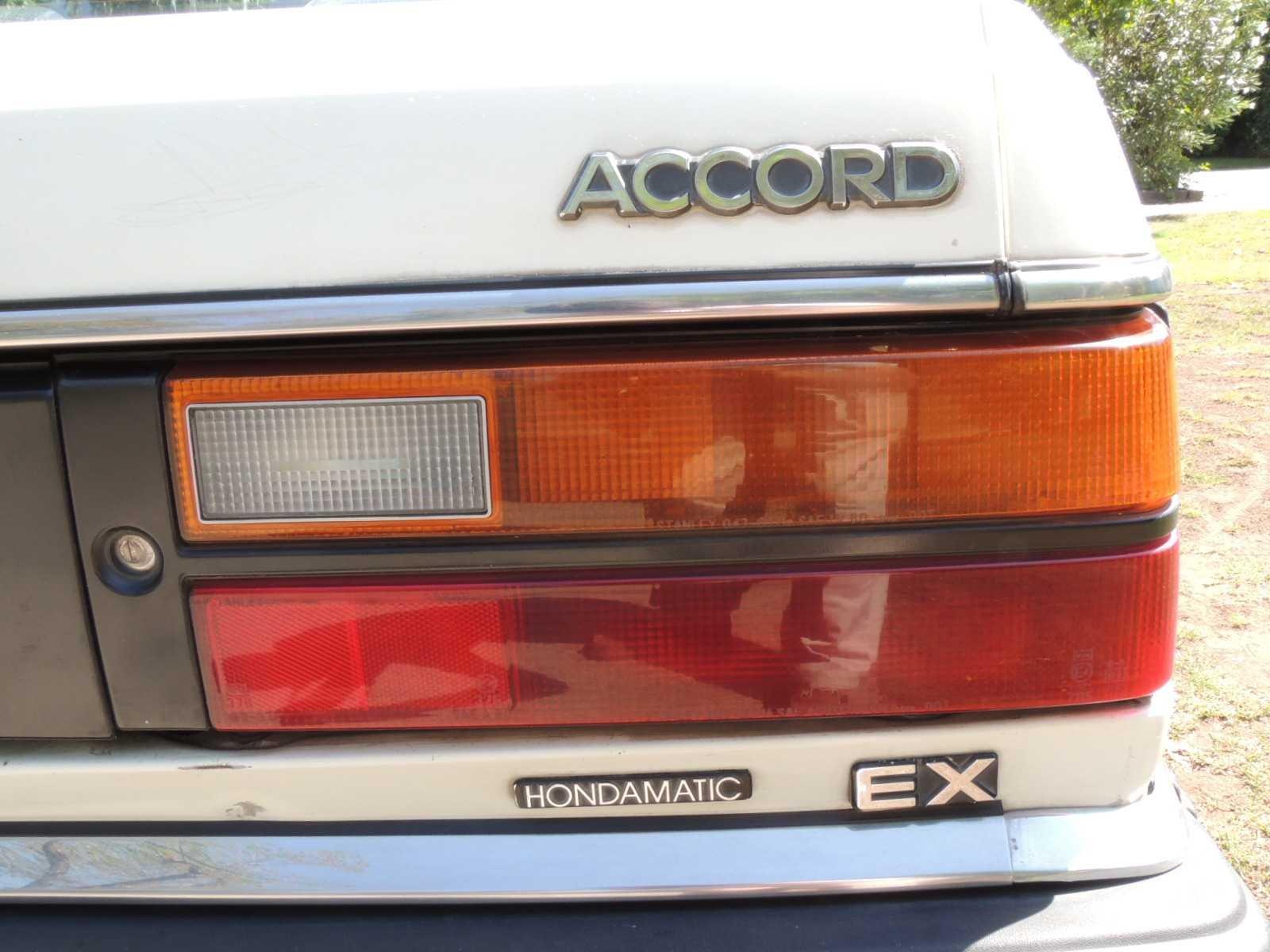 Honda Accord 1.6 EX Hondamatic 1983 Rutamotor Clásicos (35)