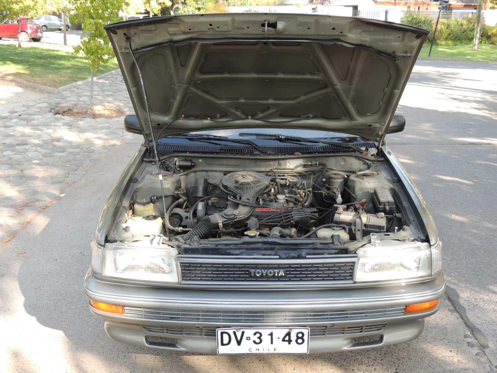Toyota Corolla 1 3 Xl Special 1992  Un Cl U00e1sico Es Para