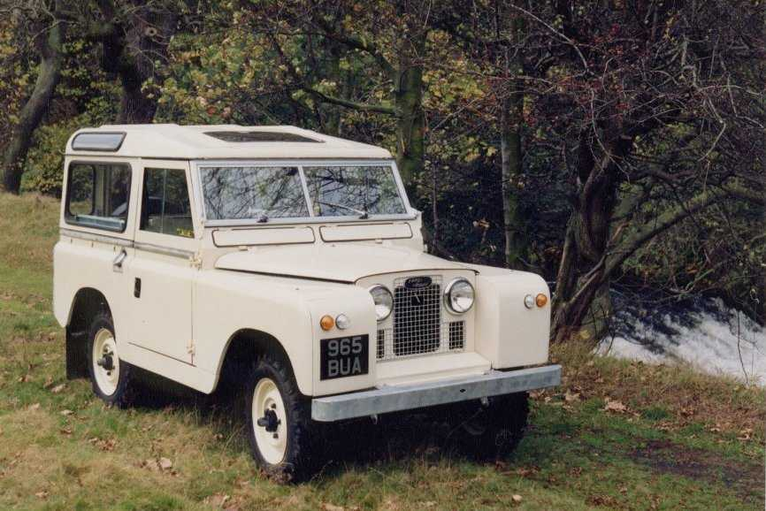 Land Rover Serie II 1958