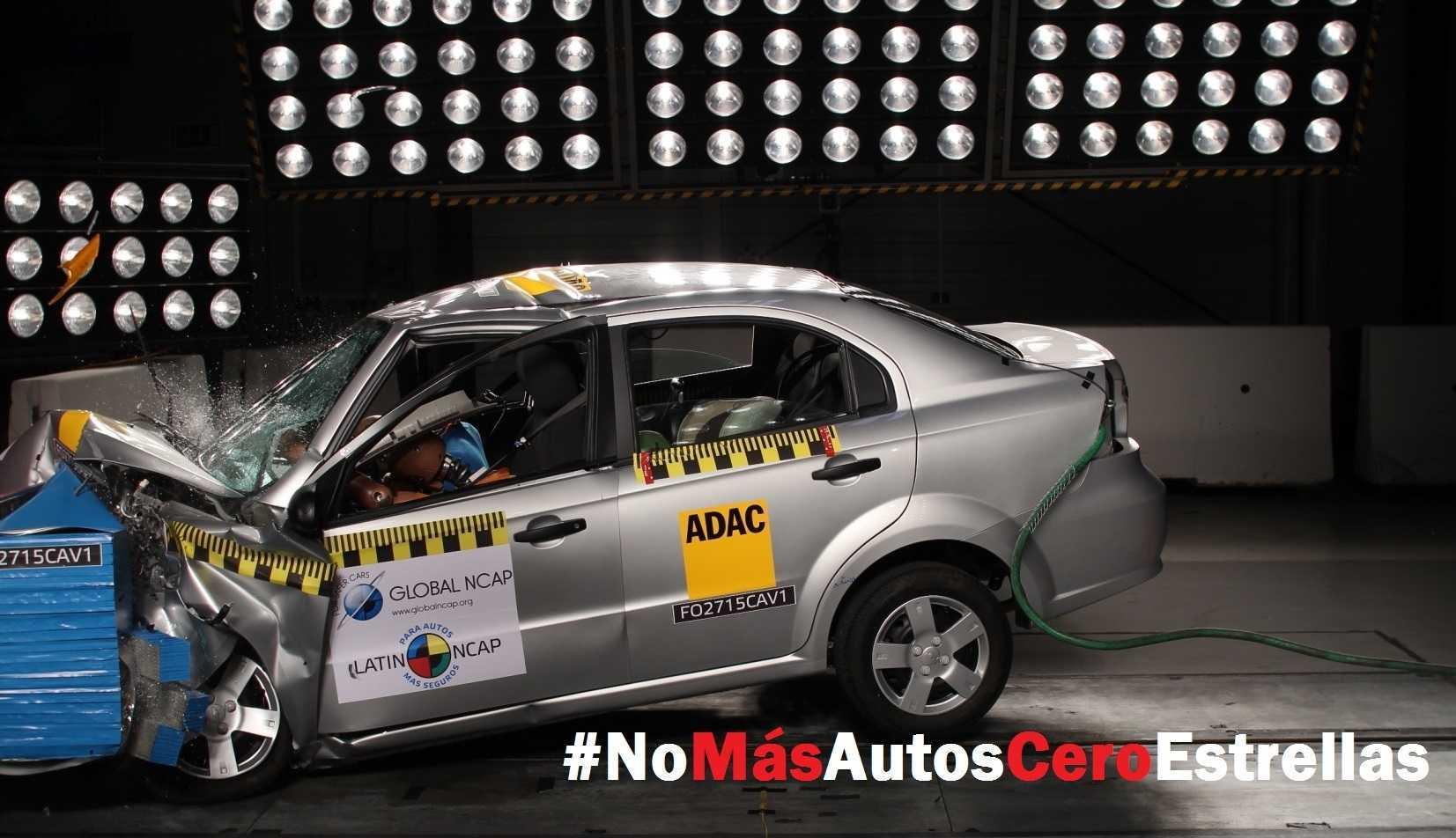 No más autos cero estrellas