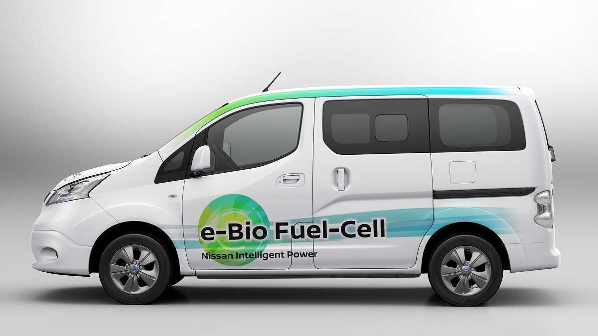 Nissan presenta el primer vehículo impulsado por una célula d