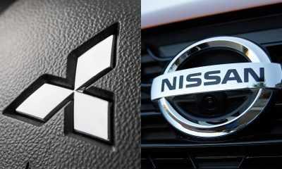 nissan-mitsubishi-logos