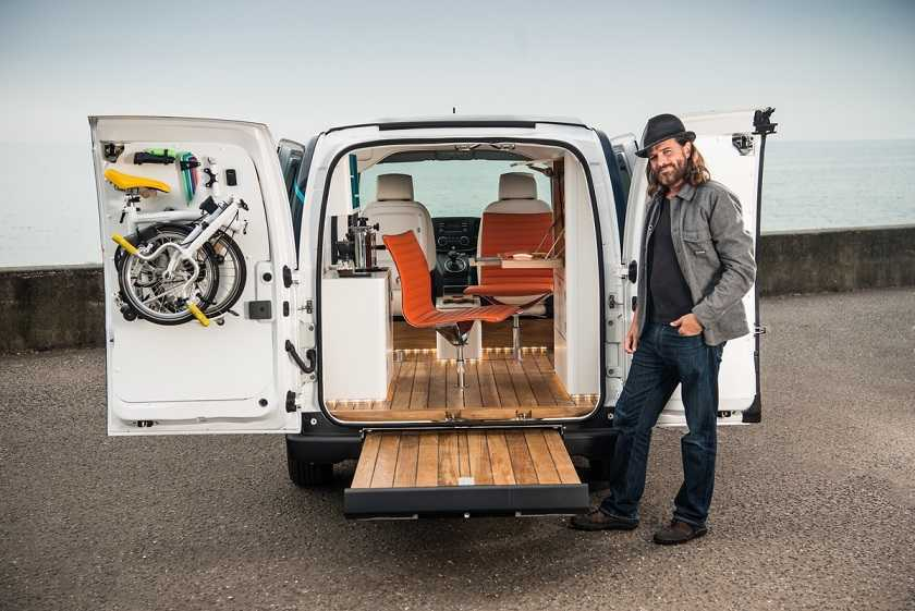 Nissan presenta e-NV200 WORKSPACe: la primera oficina móvil tot