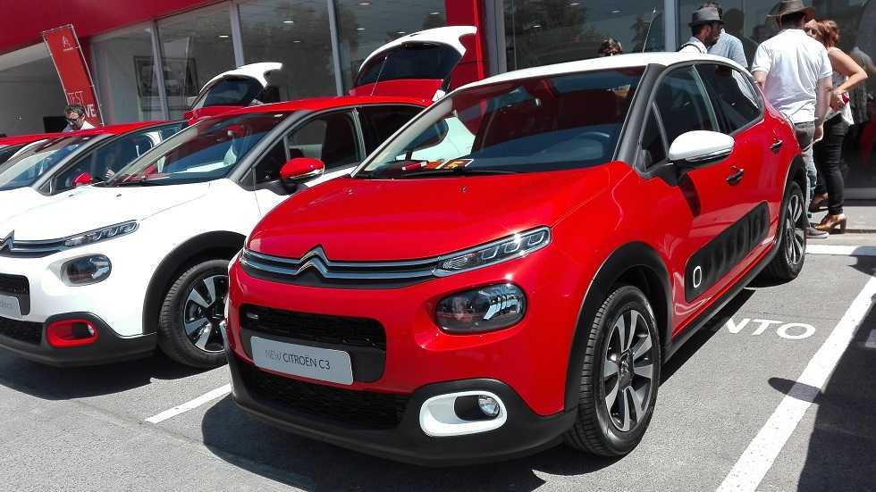 Citroen New C3 2017 Chile Llega En Versiones Feel Y Shine