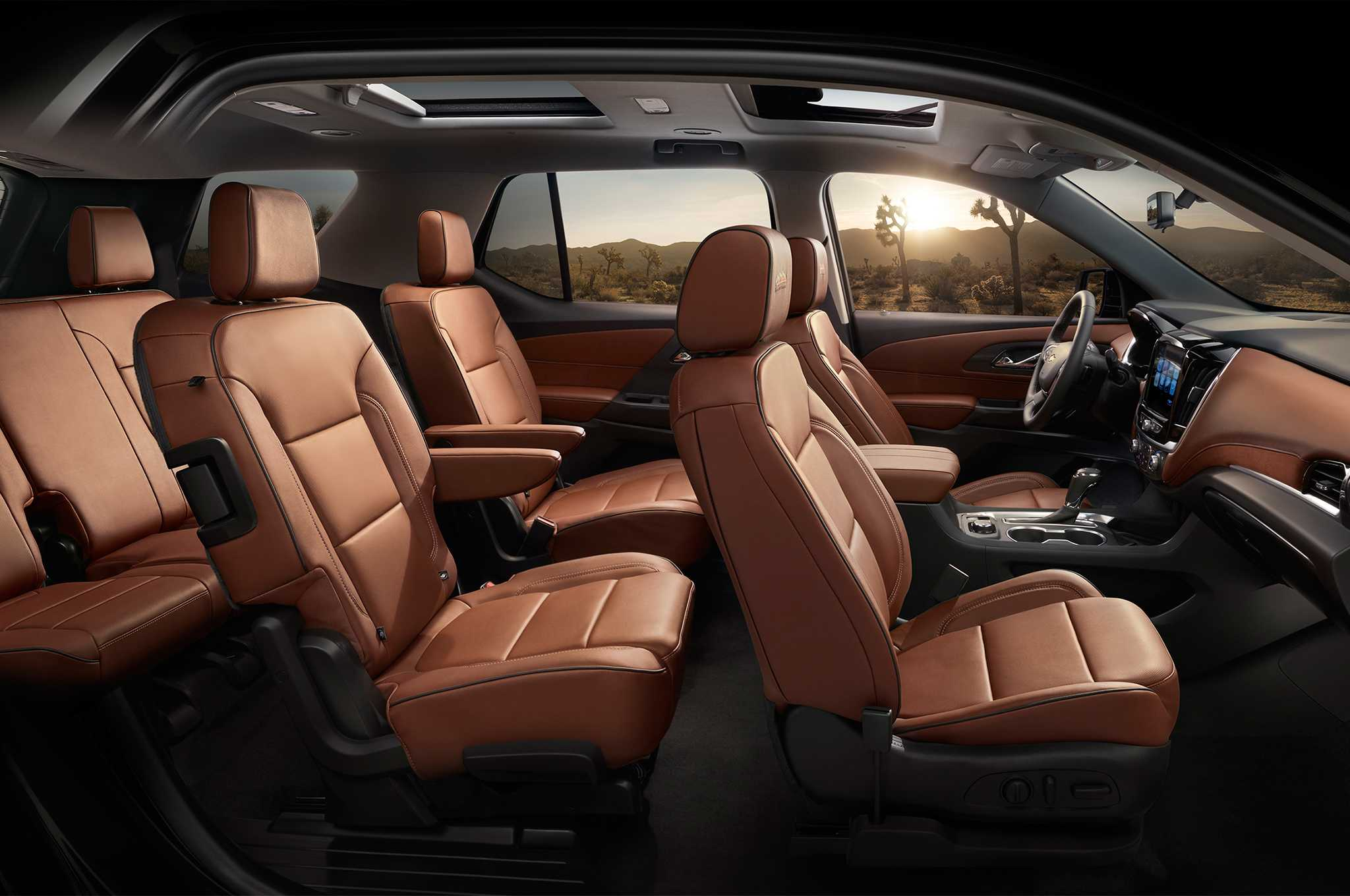 2018 Chevrolet Traverse Interior Side Overview Rutamotor