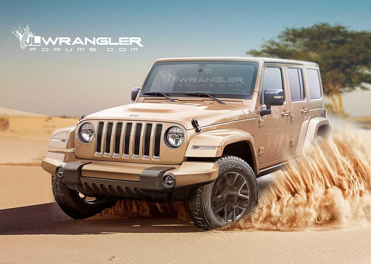 m s detalles del totalmente nuevo jeep wrangler 2018 rutamotor. Black Bedroom Furniture Sets. Home Design Ideas