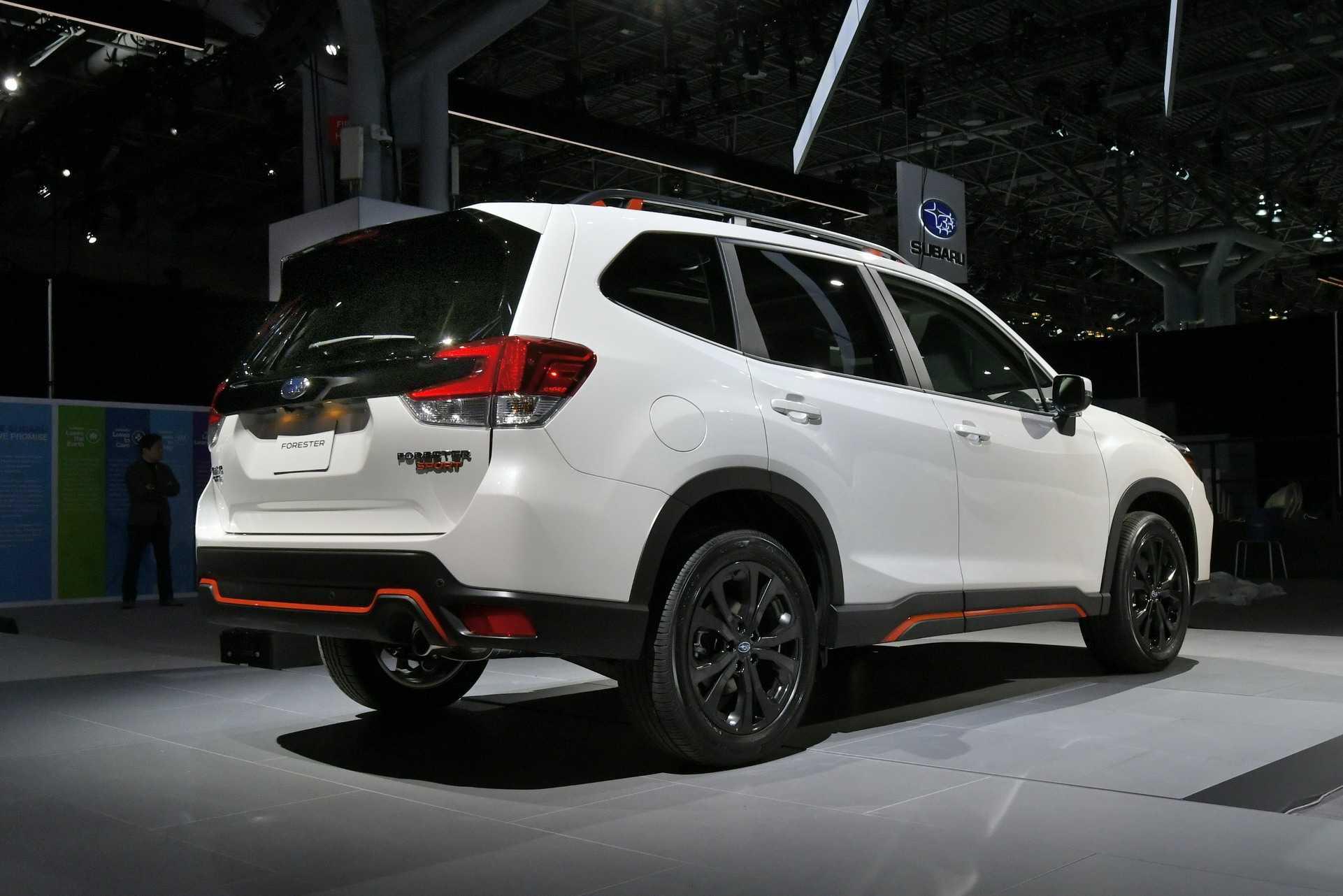 New York 2018: Subaru presentó la renovada Forester 2019 ...