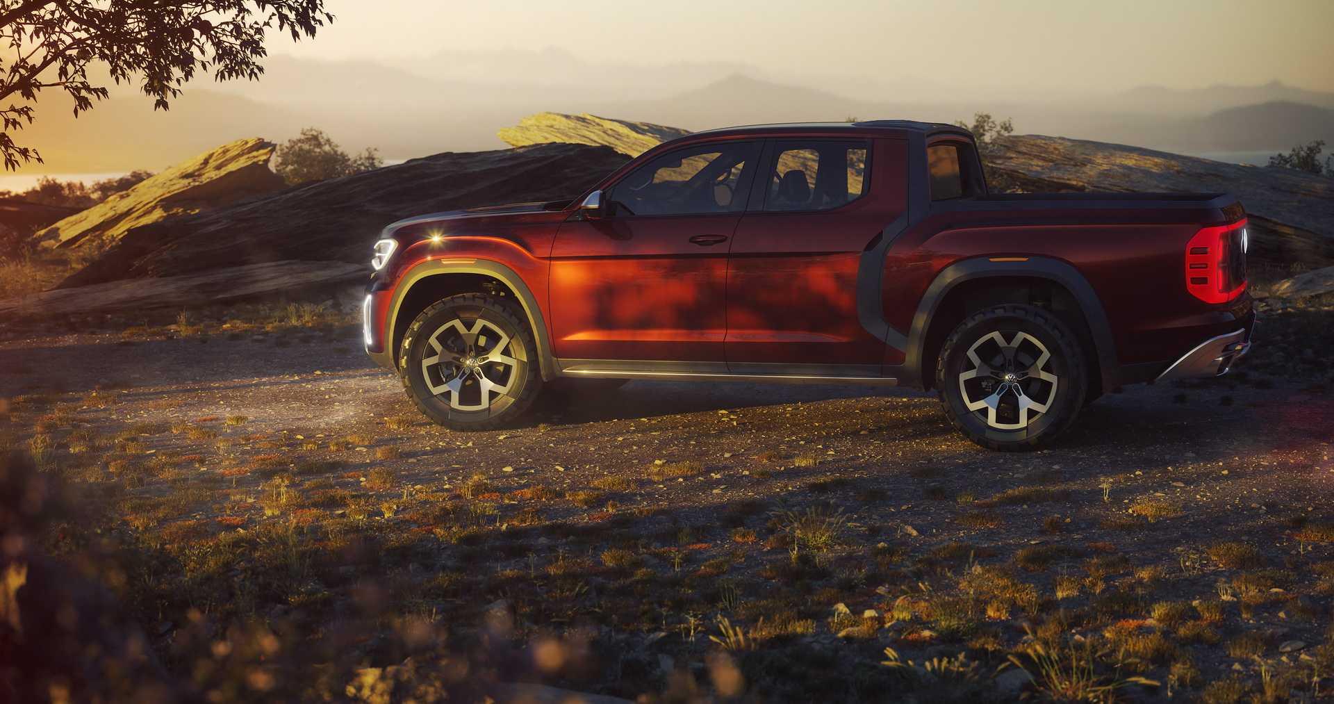york  volkswagen presenta la camioneta conceptual atlas tanoak rutamotor