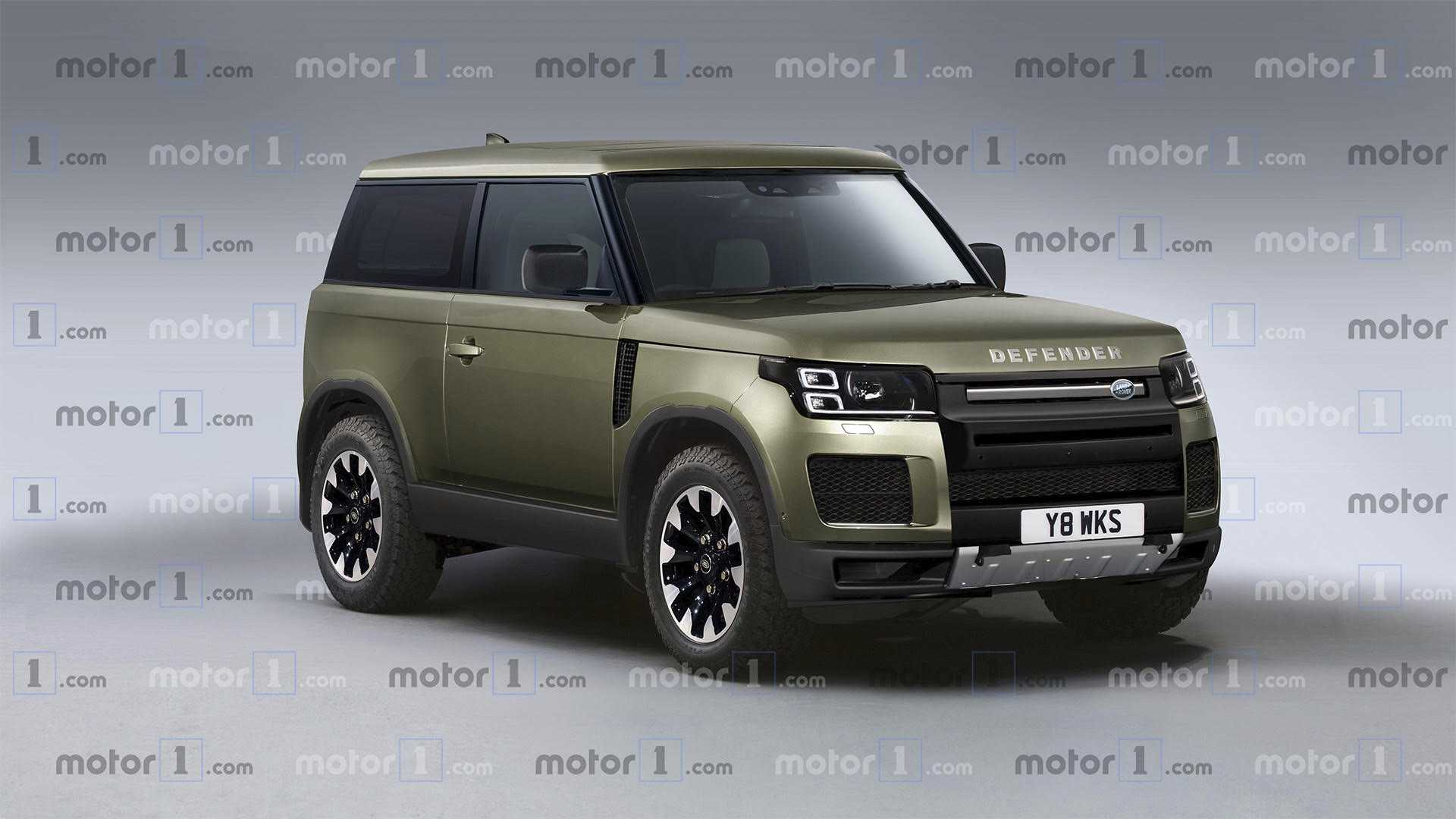 primer render del futuro y esperado land rover defender. Black Bedroom Furniture Sets. Home Design Ideas