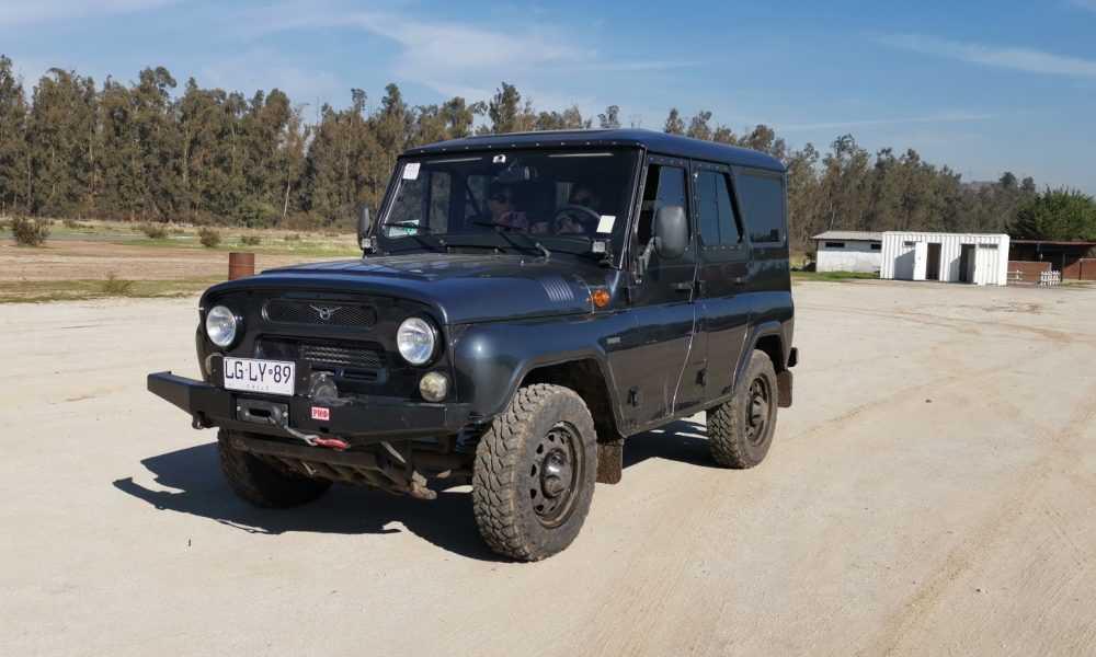 Prueba Off Road Del Uaz Hunter En Chile Vehiculo Militar Para La
