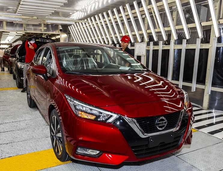 Nissan comenzó a fabricar en México el totalmente nuevo ...