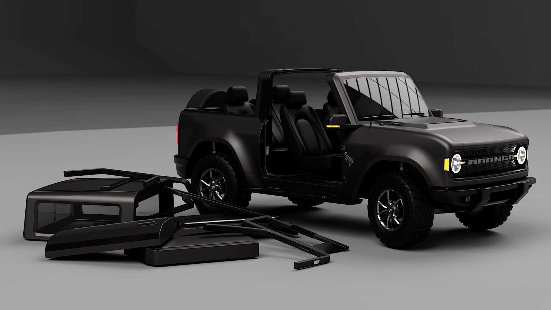 2021 Ford Svt Bronco Raptor Redesign
